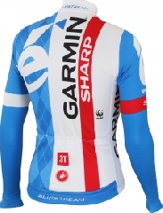 GARMIN-SHARP LS THERMAL JERSEY FZ